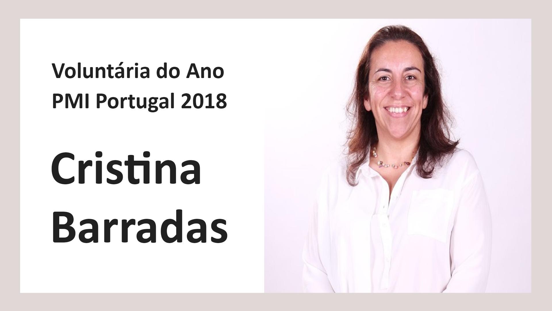 Voluntária do Ano PMI Portugal 2018