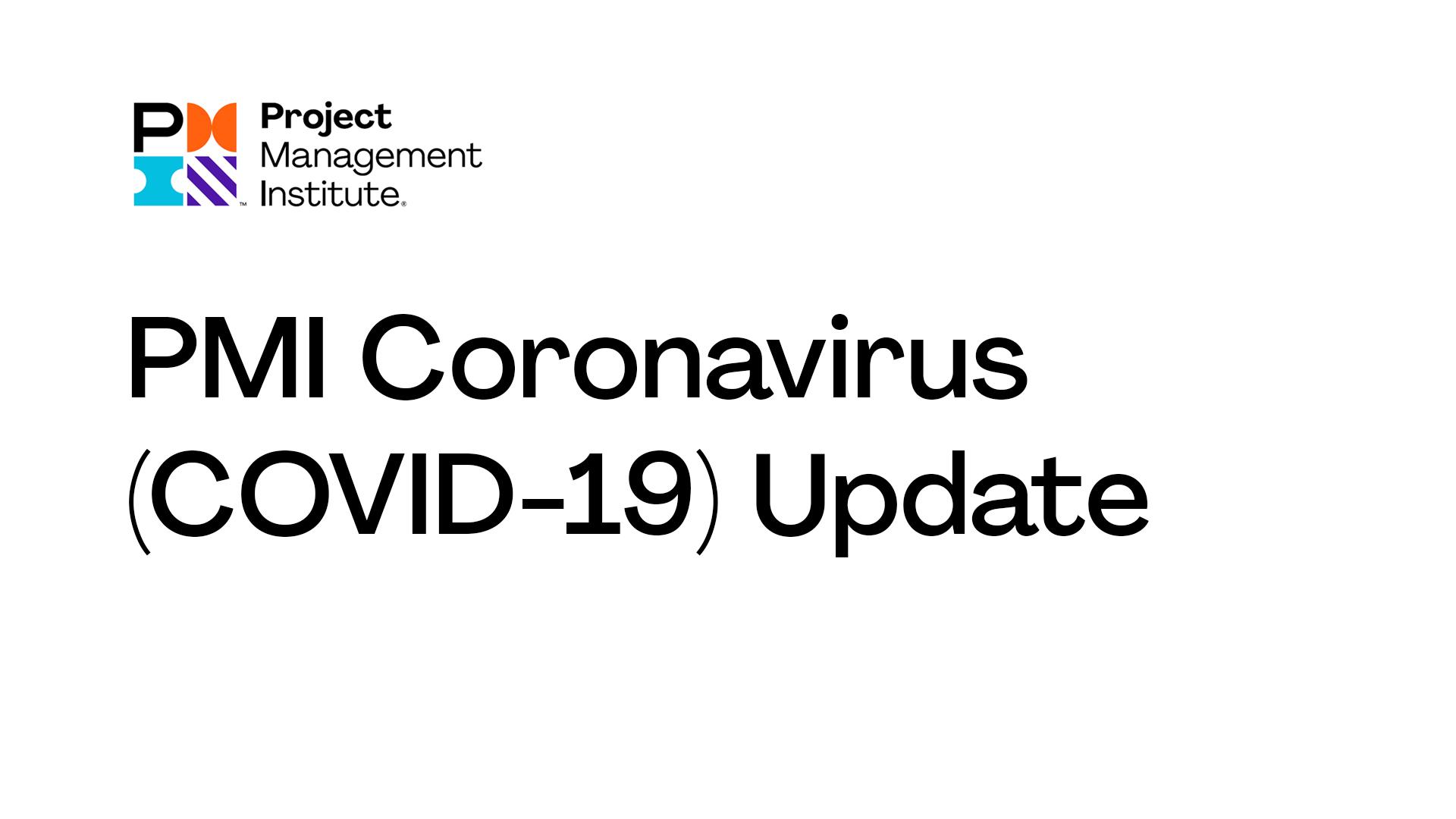 COVID-19: Adiado para janeiro de 2021 o lançamento do novo exame para certificação PMP