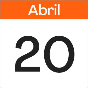 20 de Abril
